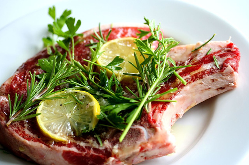 garlic-rosemary-steak