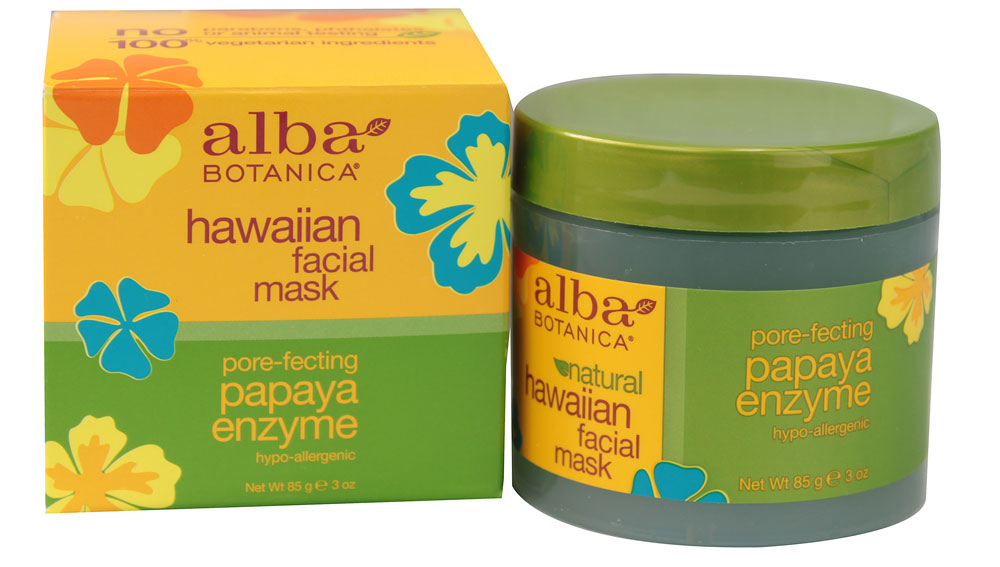 Alba-Botanica-Hawaiian-Facial-Mask-Papaya-Enzyme-724742008109
