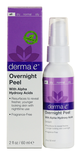 Naturfit_Overnight Peel with Alpha Hydroxy Acids derma E